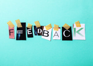 Survey per fornire feedback